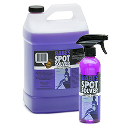 Spot cleaner for boats